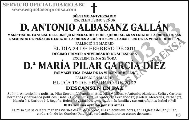 Antonio Albasanz Gallán